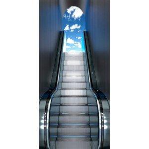 Φωτοταπετσαρία πόρτας -  Escalator 70X210 εκ