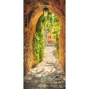 Φωτοταπετσαρία πόρτας - Alley in Italy 70X210 εκ