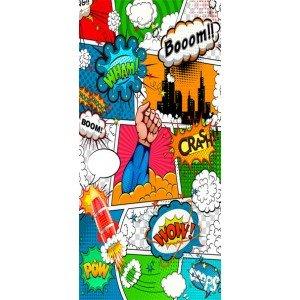 Φωτοταπετσαρία πόρτας - Comic World 70X210 εκ