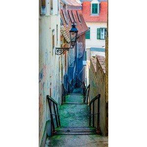 Φωτοταπετσαρία πόρτας - Croatian Alley 70X210 εκ