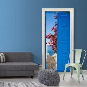 Φωτοταπετσαρία πόρτας - Door into Summer 70X210 εκ