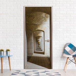 Φωτοταπετσαρία πόρτας - Mysterious Corridor 70X210 εκ