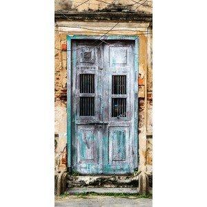 Φωτοταπετσαρία πόρτας - Old Door 70X210 εκ