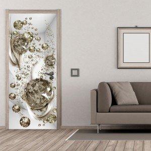 Φωτοταπετσαρία πόρτας - Photo wallpaper - Bubble abstraction I 70X210 εκ