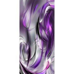 Φωτοταπετσαρία πόρτας - Photo wallpaper – Purple abstraction I 70X210 εκ