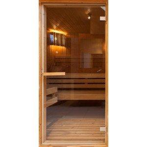 Φωτοταπετσαρία πόρτας - Sauna  70X210 εκ
