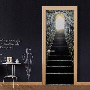 Φωτοταπετσαρία πόρτας - Secret Passage 70X210 εκ