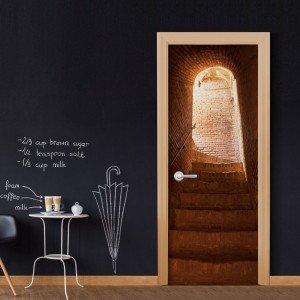 Φωτοταπετσαρία πόρτας - Secret Stairs 70X210 εκ