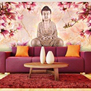 Ταπετσαρία XXL - Buddha and magnolia 550x270 εκ
