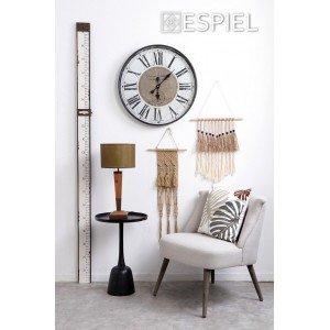 Διακοσμητικό μέτρο τοίχου σε λευκό χρώμα 10x2x196 εκ
