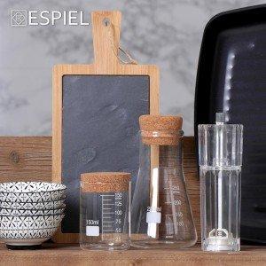 Ακρυλικός μύλος για πιπέρι ή αλάτι σετ των τεσσάρων τεμαχίων 5x16 εκ