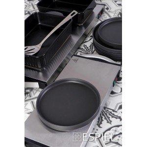 Πυρίμαχο ορθογώνιο σκεύος σε μαύρη απόχρωση 32x18x7 εκ