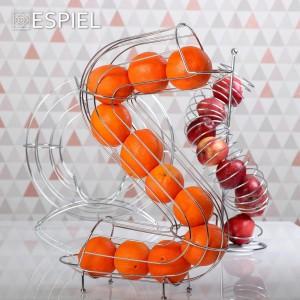 Μεταλλική βάση φρούτων σε σχήμα S 35x17x50 εκ