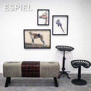 Διακοσμητικός πίνακας με σκύλο 71x4x51 εκ