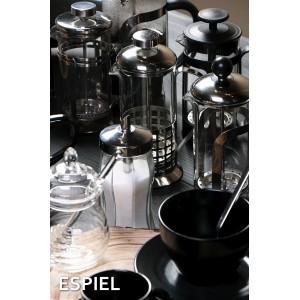 Καφετιέρα γαλλικού μαύρη pp με πλέγμα 8x19 εκ