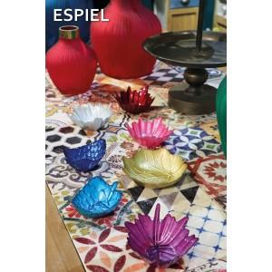 Τραπέζι διακοσμημένο με πλακάκια πολύχρωμα 195x90x77 εκ