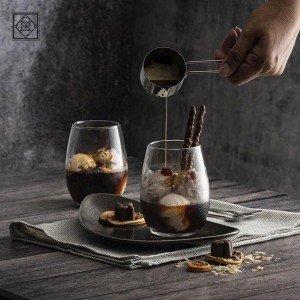 Amber white γυάλινο ποτήρι λευκού κρασιού σετ των δώδεκα τεμαχίων 8x10 εκ