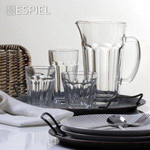 Casablanca γυάλινο ποτήρι για χυμό σετ των δώδεκα τεμαχίων 8x12 εκ