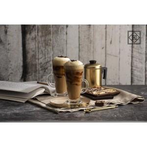 Colombian γυάλινη κούπα καφέ σετ των έξι τεμαχίων 9x18 εκ