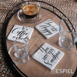 Basic φλυτζάνι και πιατάκι για cappuccino σετ των έξι 238 ml