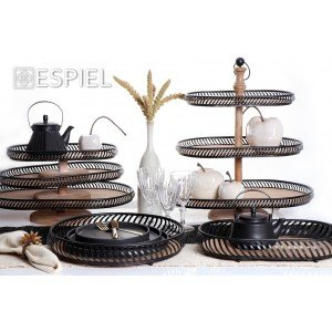 Ritual τσαγιέρα με σίτα σε μαύρο χρώμα 16x14x11 εκ