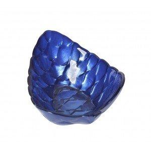 Pinecone μπωλ σε σχήμα κουκουνάρι σε μπλε απόχρωση σετ των δώδεκα τεμαχίων 12 εκ