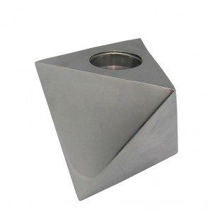 Minimal κηροπήγιο μεταλλικό για ρεσώ 16x21x10 εκ