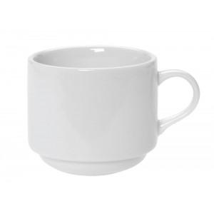 Λευκή κούπα 200ml σετ των δώδεκα τεμαχίων 8x7x7 εκ
