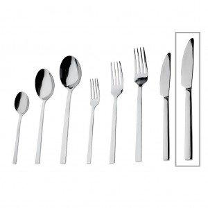 Divine μαχαίρι φαγητού ανοξείδωτο σετ των δώδεκα τεμαχίων 24 εκ