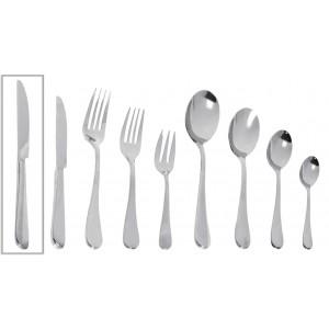 Benefit μαχαίρι φαγητού ανοξείδωτο σετ των δώδεκα τεμαχίων 23 εκ