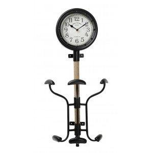 Vintage ρολόι και κρεμάστρα 71 εκ
