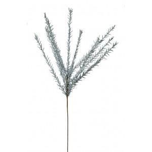 Διακοσμητικό λουλούδι σε μπλε απόχρωση σετ των έξι 114 εκ