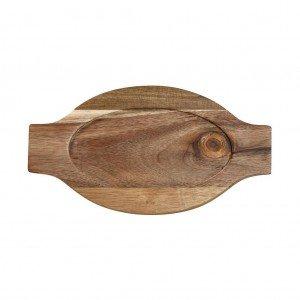 Lava δισκάκι από ξύλο ακακίας σετ των τεσσάρων τεμαχίων 21x13 εκ