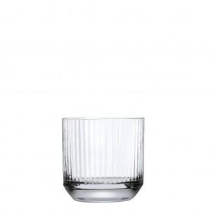 Big top ποτήρια ουίσκι από κρυσταλλίνη σετ των έξι τεμαχίων 8 εκ