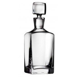 Square κρυστάλλινο μπουκάλι διάφανο 10x33 εκ