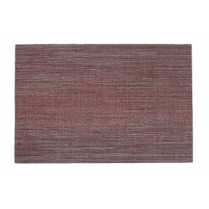 Minimal σουπλά σε μπορντώ χρώμα σετ των έξι τεμαχίων 45x30 εκ