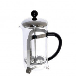 Καφετιέρα γαλλικού με pp μαύρη λαβή 8x19 εκ