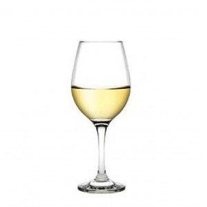 Amber γυάλινο ποτήρι λευκού κρασιού σετ των δώδεκα τεμαχίων 8x19 εκ