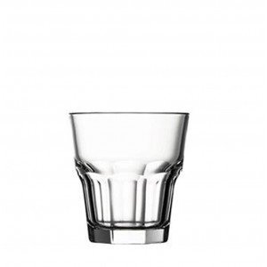 Casablanca γυάλινο ποτήρι για ουίσκι σετ των τριών τεμαχίων 9 εκ