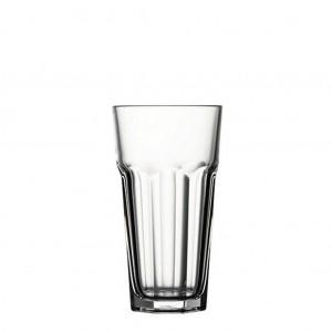 Casablanca γυάλινο ποτήρι για παγωμένο καφέ σετ των τριών τεμαχίων 8x15 εκ
