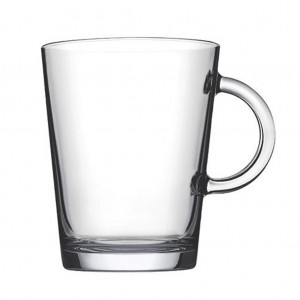 Tribeca γυάλινη κούπα για καφέ σετ των δώδεκα τεμαχίων 9x11 εκ