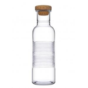 Hoop γυάλινο μπουκάλι νερού 9x28 εκ