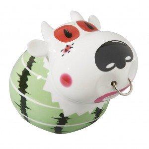 Πορσελάνινος κουμπαράς αγελάδα 13x12x12 εκ
