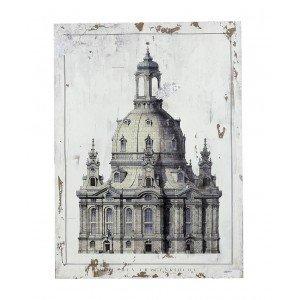 Vintage διακοσμητικό κάδρο Dresden 80x60 εκ