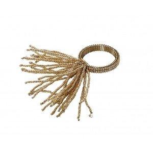 Δαχτυλίδι πετσέτας σε χρυσό χρώμα σετ των έξι τεμαχίων 6 εκ