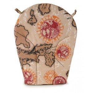 Διακοσμητικό μαξιλάρι πλάτης για μασίφ πολυθρόνες τύπου Γαλλίδα και τύπου Βεντάλια 52x41x2 εκ