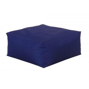 Μωβ πολυθρόνα πουφ με αδιάβροχο ύφασμα 75x75x35 εκ