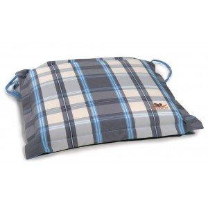 Καρώ μαξιλάρι καθίσματος με φερμουάρ 40x40 εκ