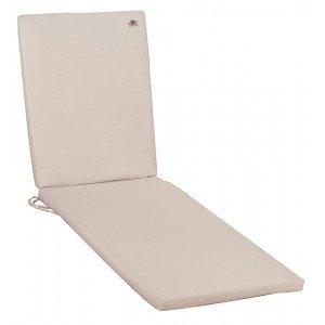 Μαξιλάρι για ξαπλώστρα με φερμουάρ 196x58x6 εκ
