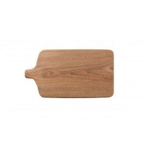 Δίσκος Σερβιρίσματος Tapas με πόδια από ξύλο teak 45x25x20 εκ